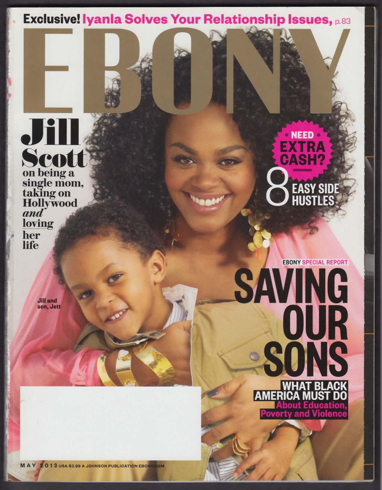 EBONY Jill Scott & Son Jett Iyanla Vanzant DJ Whoo Kid + 5 2013