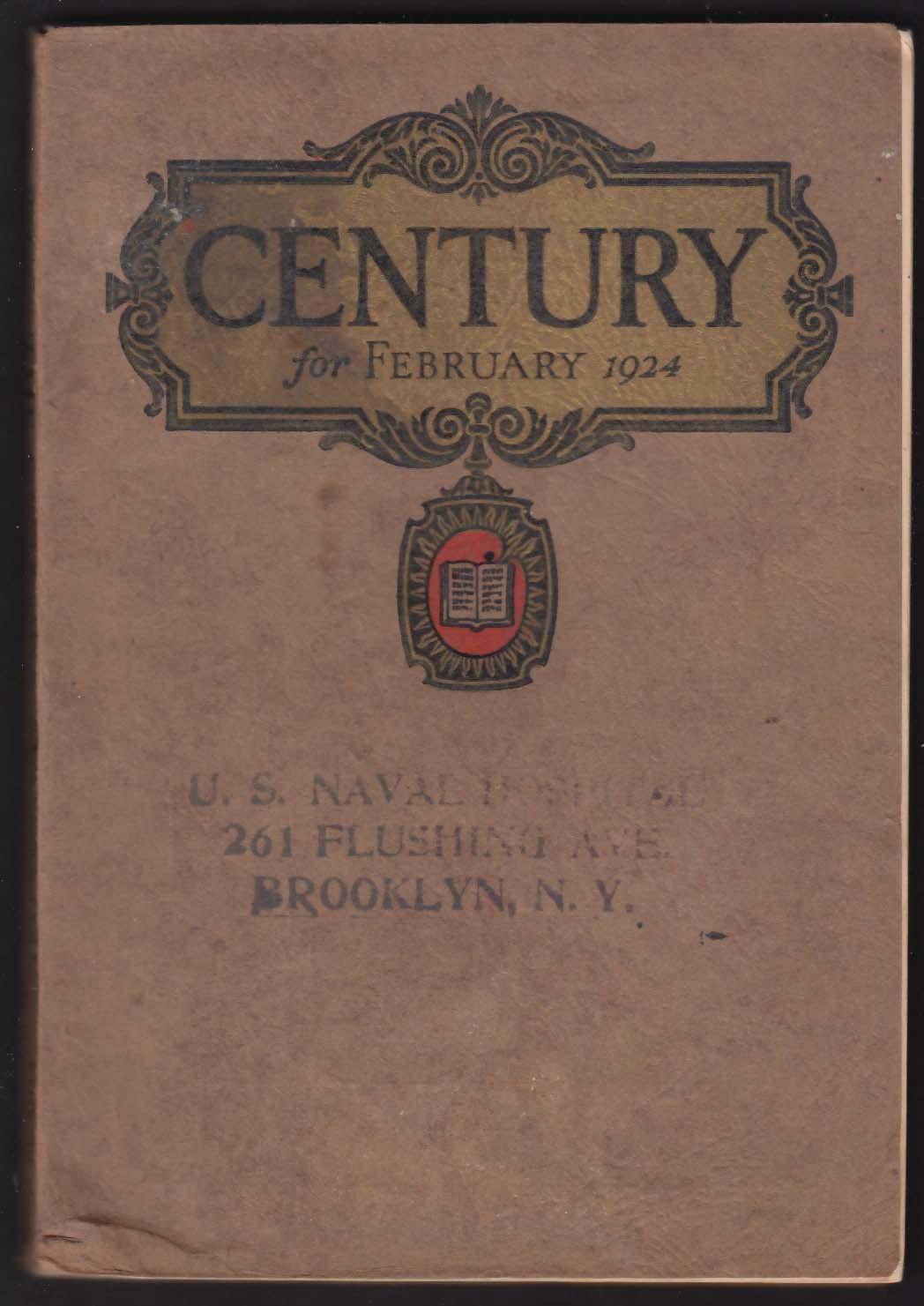 CENTURY League of Nations Mahatma Gandhi III Carl Van Doren + 2 1924