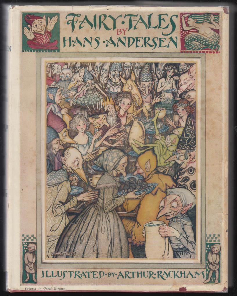 Hans Christian Andersen Fairy Tales Arthur Rackham edition 1st ed London 1932