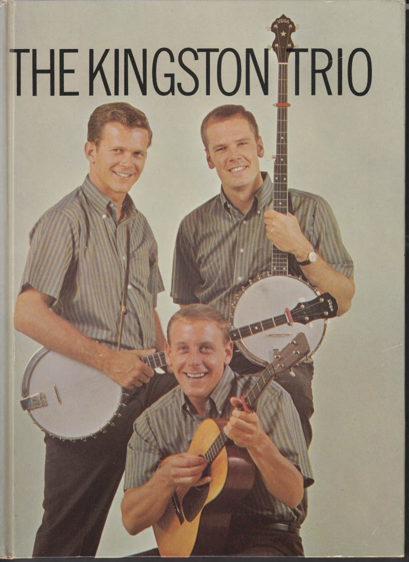 The Kingston Trio Story book 1960
