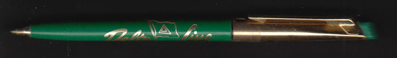 Delta Steamship Lines advertising ballpoint pen 1960s