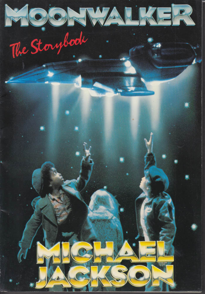 Michael Jackson Moonwalker Storybook 1st UK edition 1988