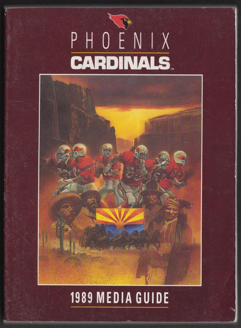 1989 Phoenix Cardinals Media Guide