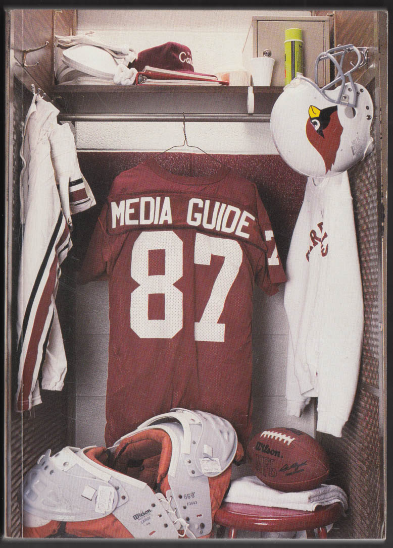 1987 St Louis Football Cardinals Media Guide