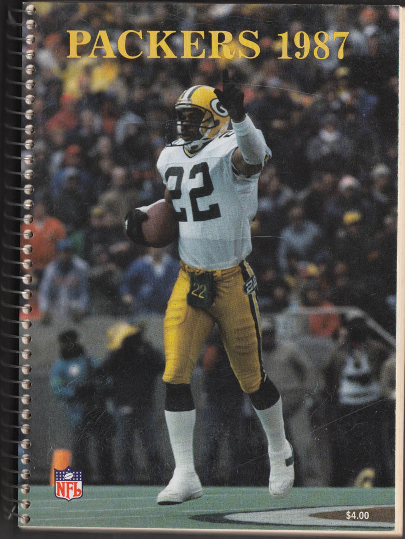 1987 Green Bay Packers Media Guide
