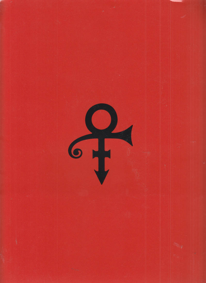 Prince media folder packet with releases, news, etc 1997