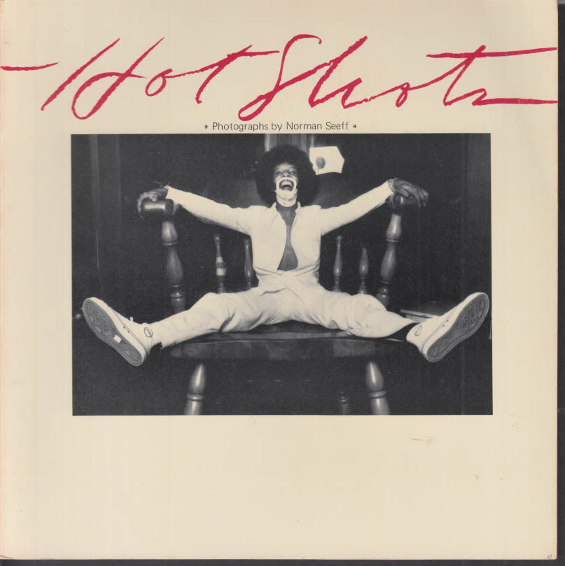 Image for Norman Seeff: Hot Shots photo monograph Flash Books 1st ed 1974