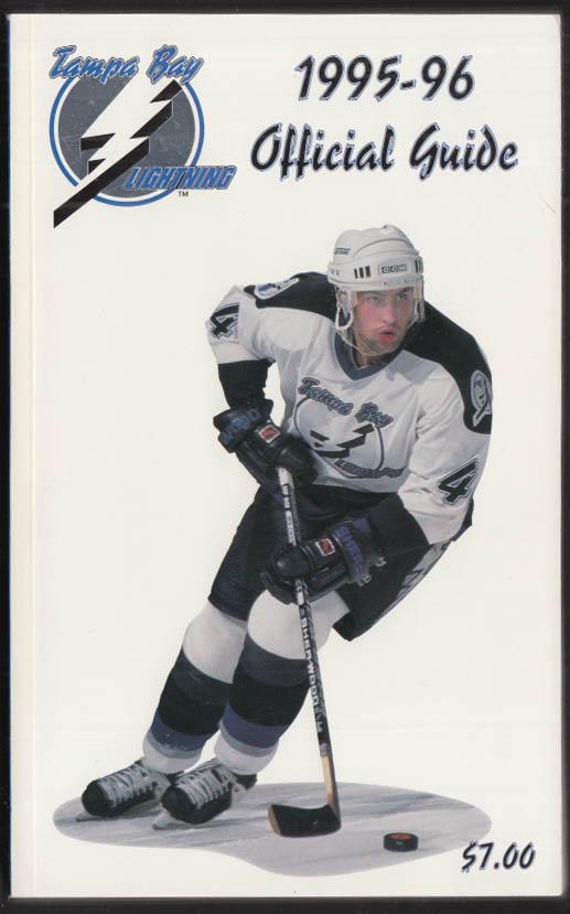 Tampa Bay Lightning NHL Hockey Media Guide 1995-1996