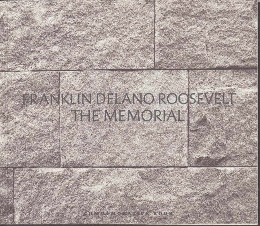 FDR Memorial Commemorative Book 1997 Leonard Baskin George Segal ++
