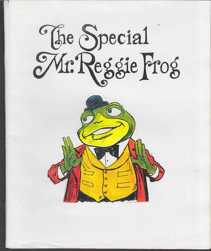 Cartoonist Frank Bolle ORIGINAL The Special Mr Reggie Frog dummy 1990s