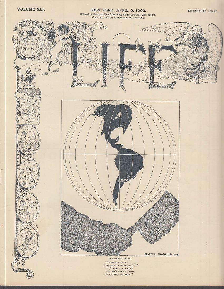 Life 4 9 1903 Satire Cartoons Jokes Anecdotes Humor Charles