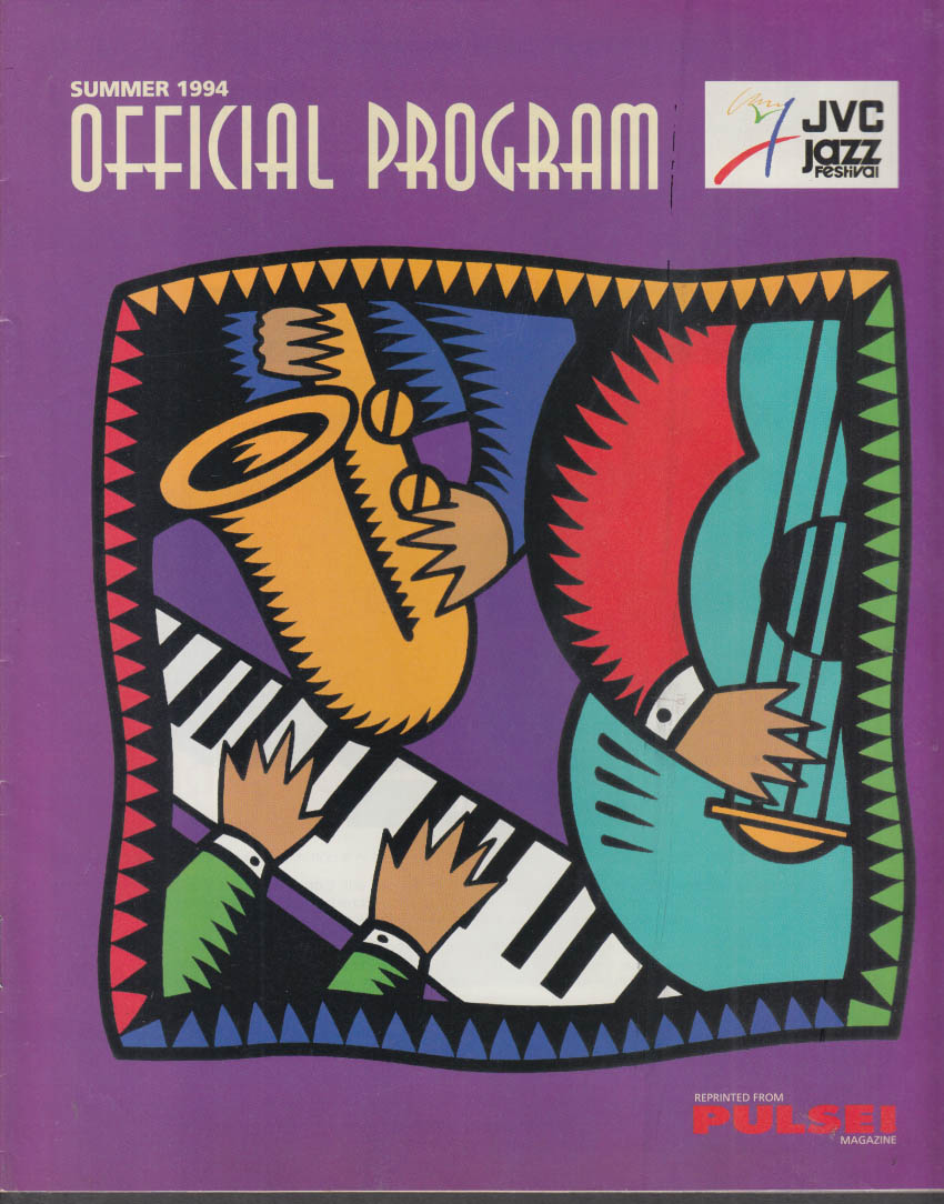 JVC Newport Jazz Festival Official Program Summer 1994