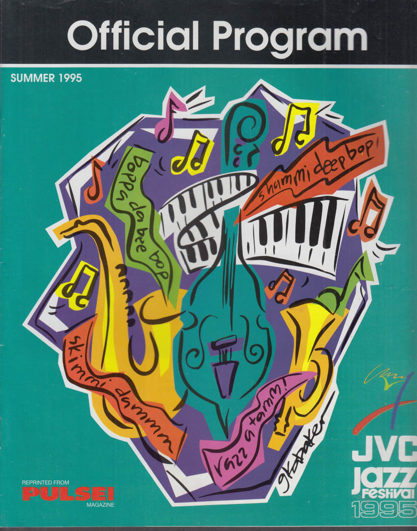 JVC Newport Jazz Festival Official Program Summer 1995