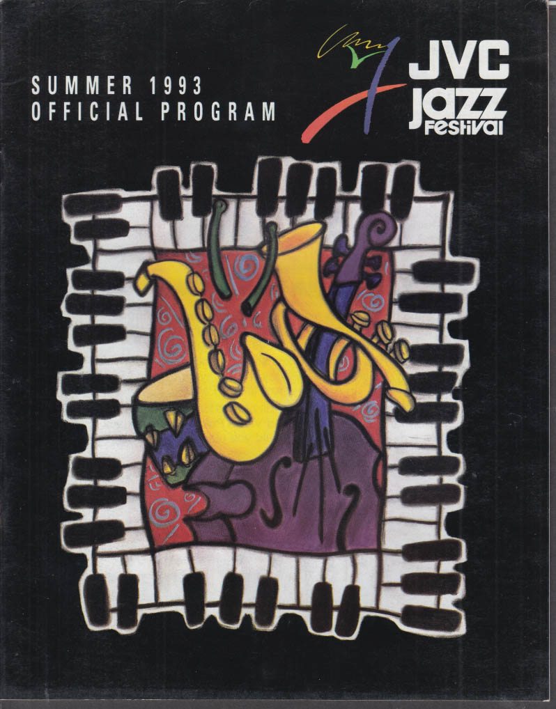 JVC Newport Jazz Festival Official Program Summer 1993
