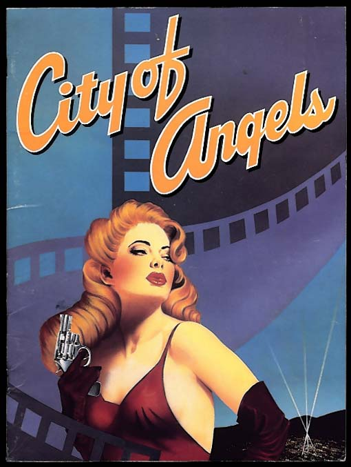 City of Angels Musical Theatre program 1990s