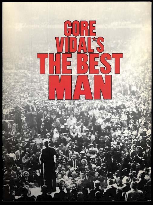 Gore Vidal's The Best Man theatre program 2000 Durning Noth Ashley Ebersole