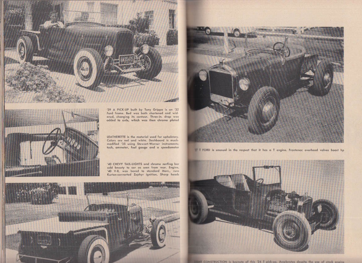 HOT RODS Trend Book #102 1951 by editors of Hot Rod Magazine