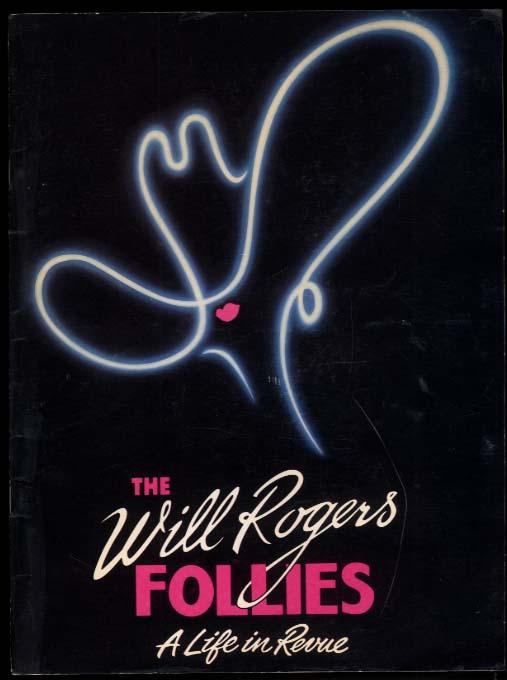 The Will Rogers Follies souvenir program Keith Carradine 1990s