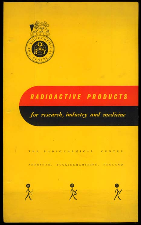 UKAEA Radioactive Products for Research Industry & Medicine catalog 1956