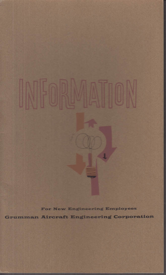 Grumman Aircraft Information for New Engineering Employees booklet 1962