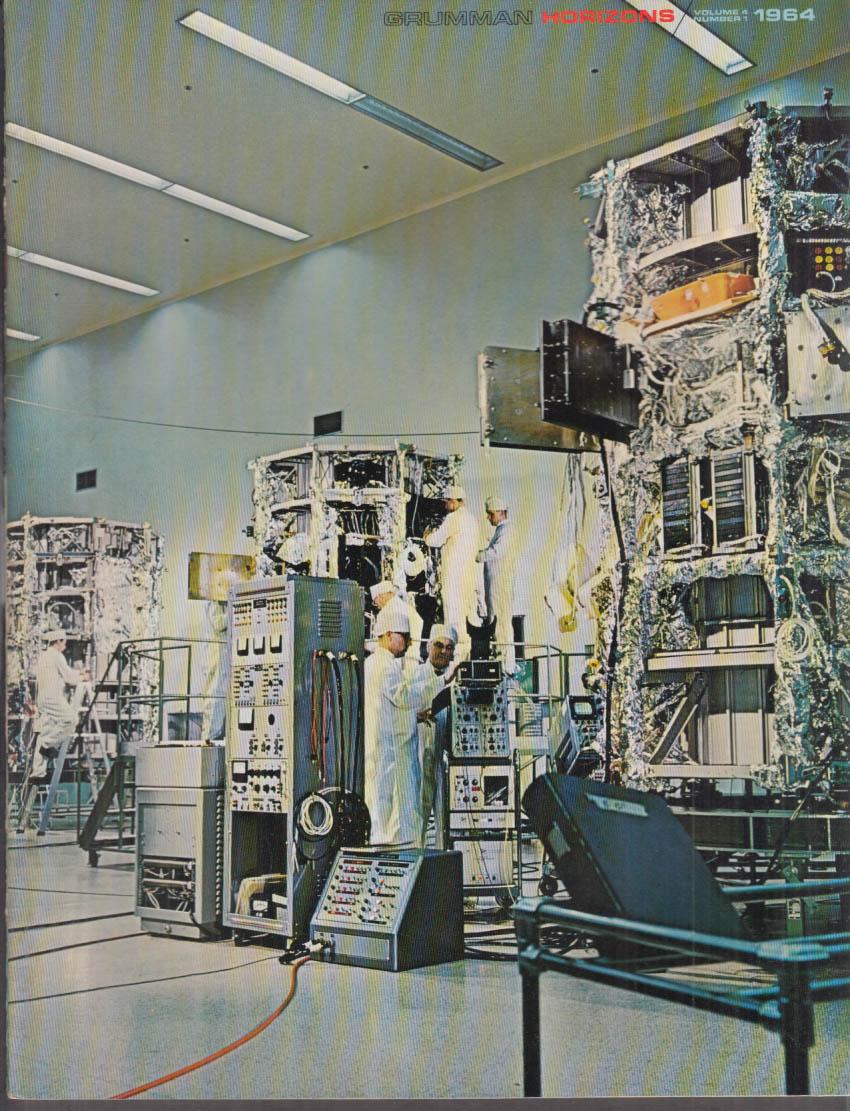 Grumman HORIZONS V4n1 Nitze's New Navy; NASA's LEM; Navy Chutists