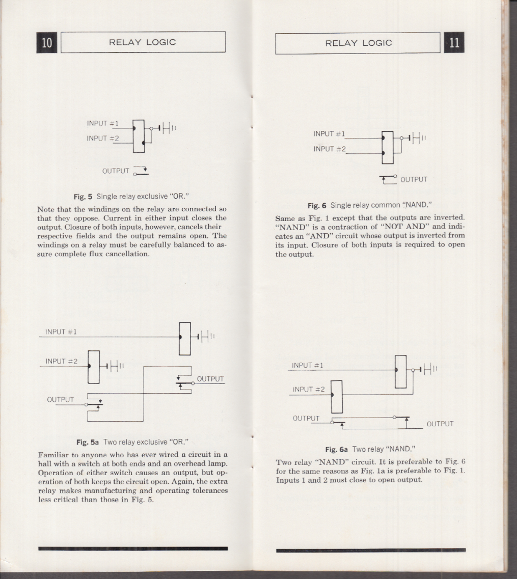 Automatic Electric Relay Logic Manual 1967 Northlake IL