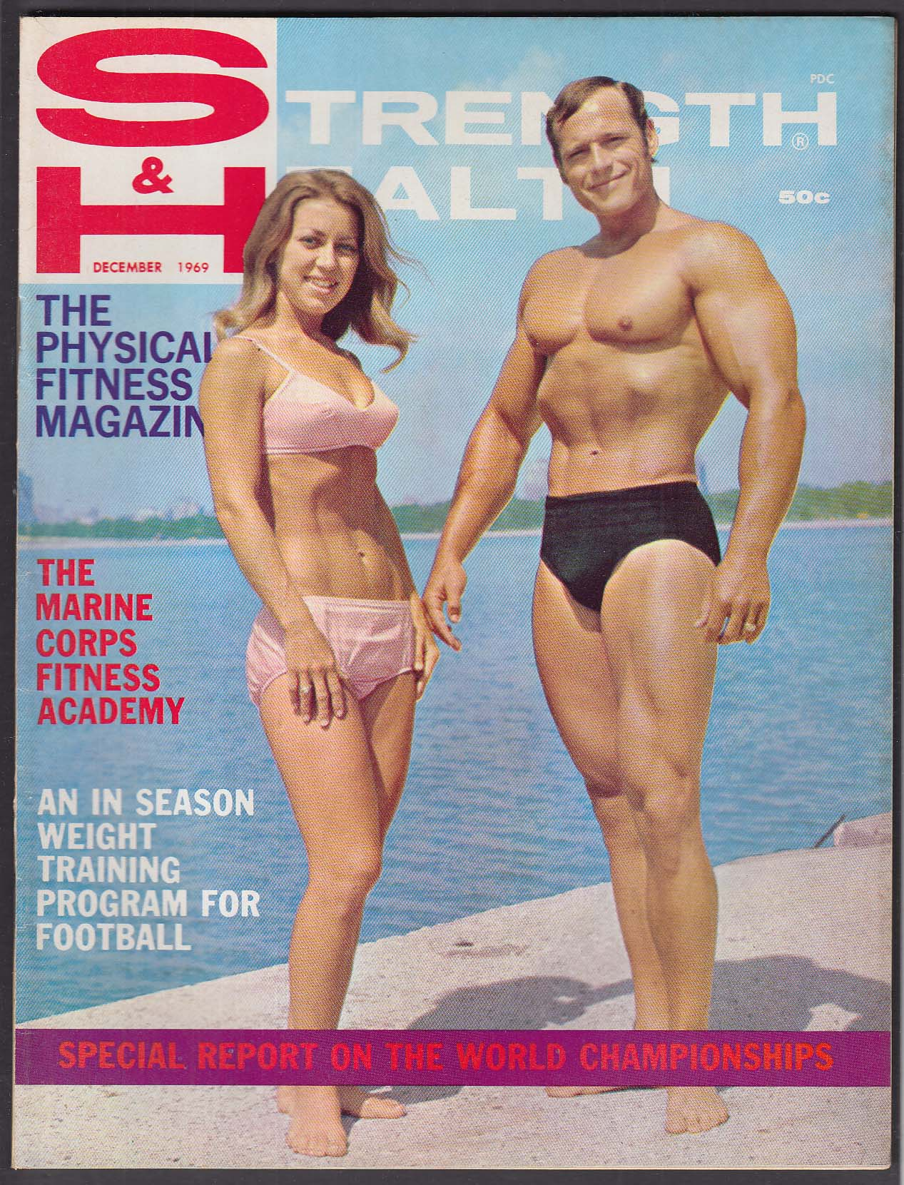 STRENGTH & HEALTH Curt & Sharon Haywood Bill Grant Ken Patera + 12 1969