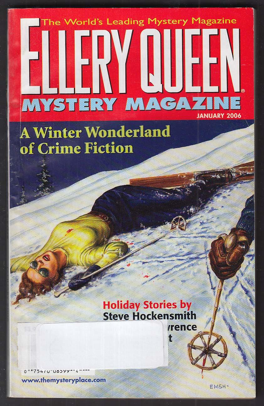 ELLERY QUEEN Steve Hockensmith + 1 2006 Edward Emshwiller GGA cover