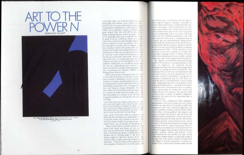 ARTFORUM 12 1986 Lemieux Warhol Kozloff Abramovic De Dominicis