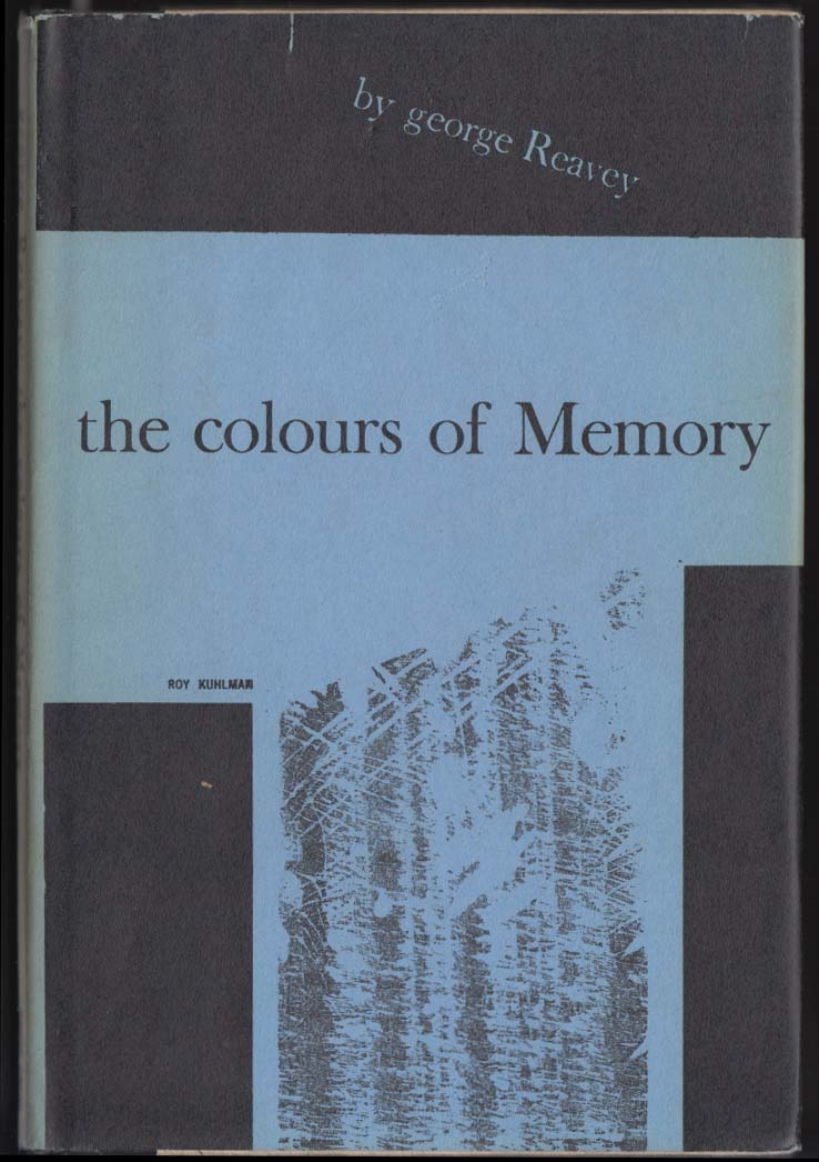 George Reavey Colours of Memory SIGNED 1st to Horace Gregory & Marya Zaturenska