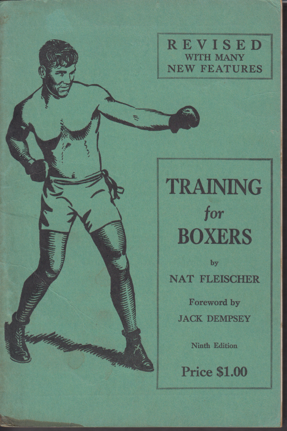 Fleischer: Training for Boxers Jack Dempsey foreword 9th edition 1937