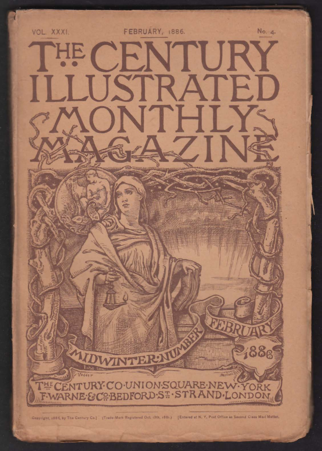 CENTURY ILLUSTRATED MONTHLY Ulysses S Grant Henry James Congo McClellan + 2 1886
