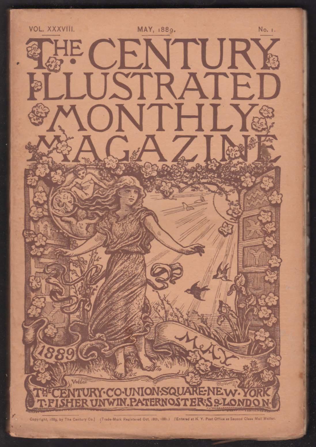 CENTURY ILLUSTRATED MONTHLY Samoa Trans-Baikal Lincoln Civil War + 5 1889