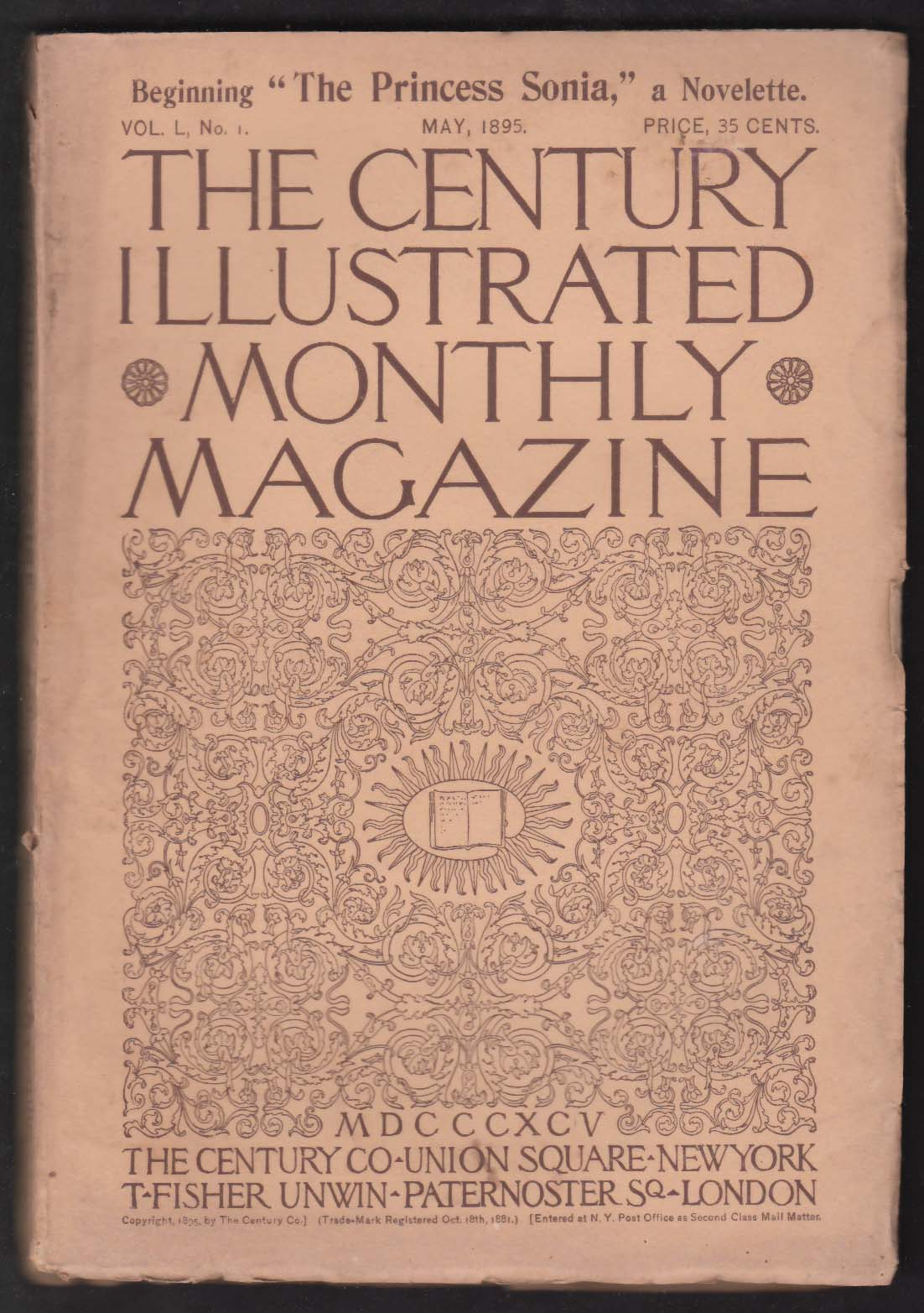 CENTURY ILLUSTRATED MONTHLY Noah Brooks Alexander McArthur Dr Livingstone 5 1895
