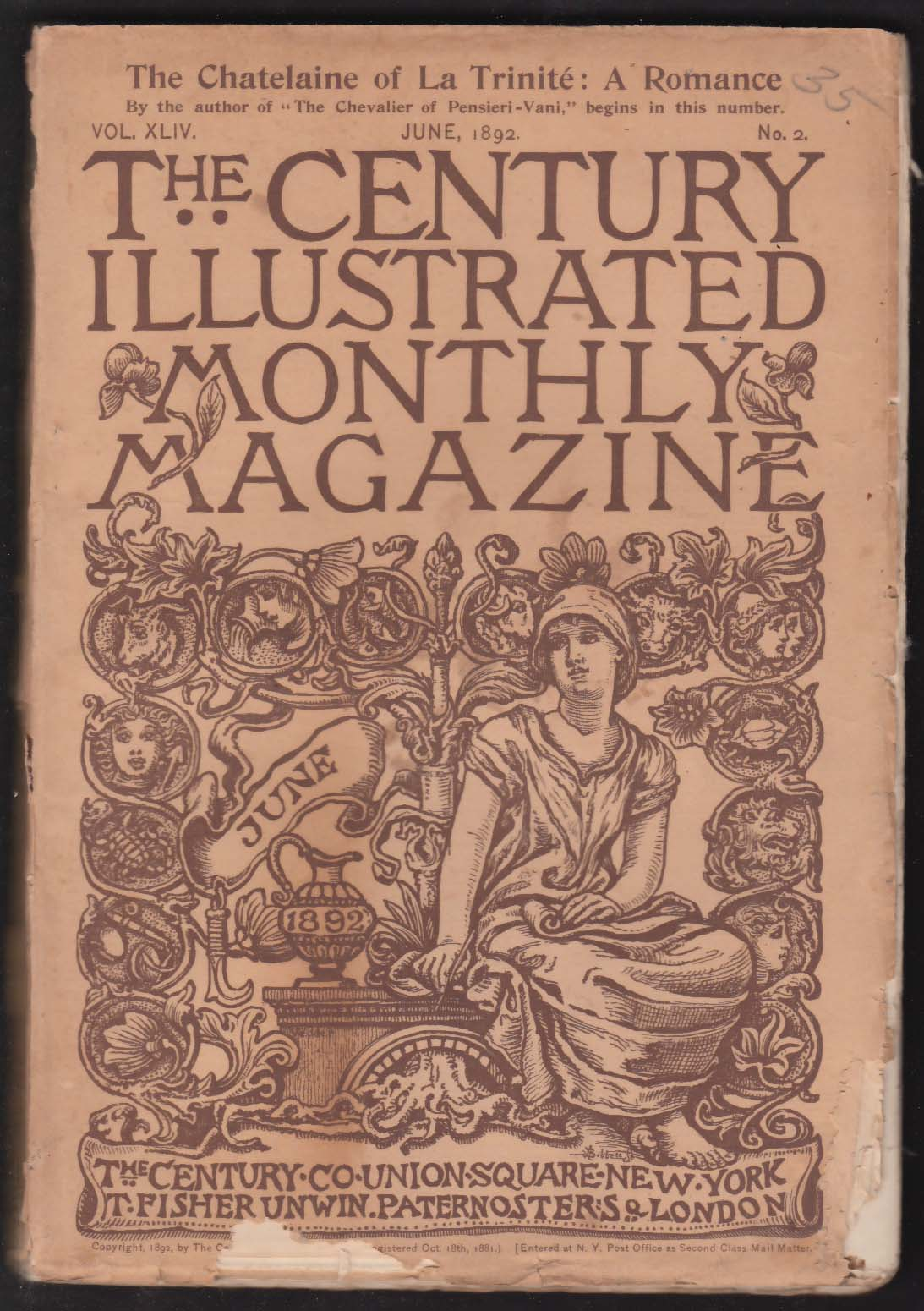 CENTURY ILLUSTRATED MONTHLY Rudyard Kipling Henry Fuller Mary H Foote ++ 6 1892