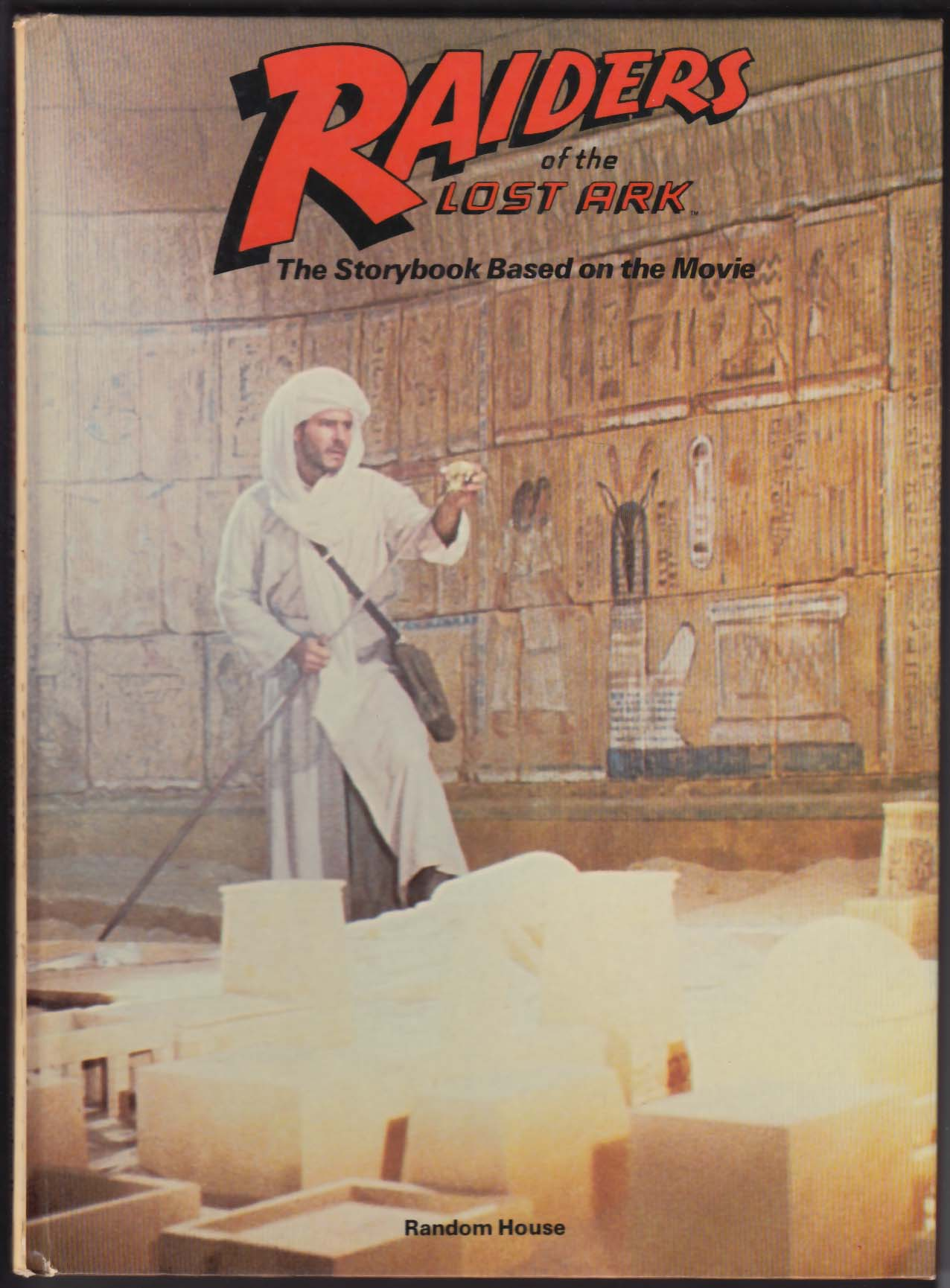 Les Martin: Raiders of the Lost Ark storybook 3rd printing 1981 Indiana Jones