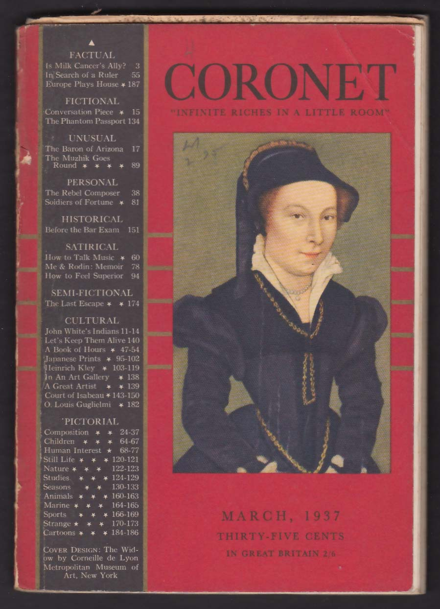 CORONET Philip Barr George Sokolsky O Louis Guglielmi + 3 1937