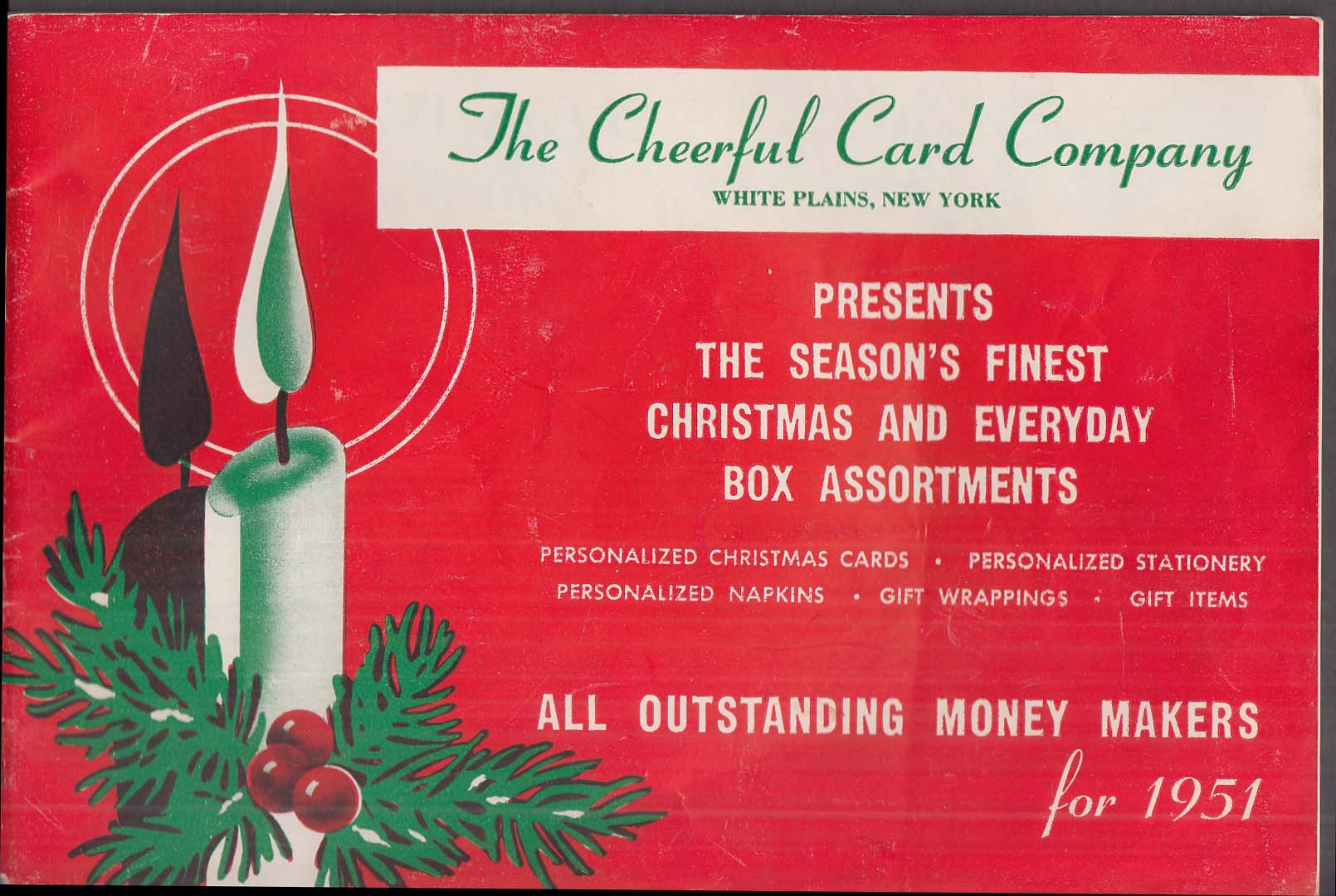 Cheerful card company catalog 1951 greeting cards stationery gift cheerful card company catalog 1951 greeting cards stationery gift items m4hsunfo