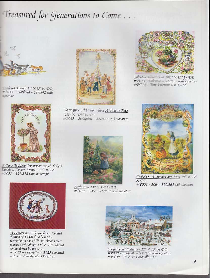 Tasha Tudor Timeless Treasures Spring-Summer 1992 Catalog
