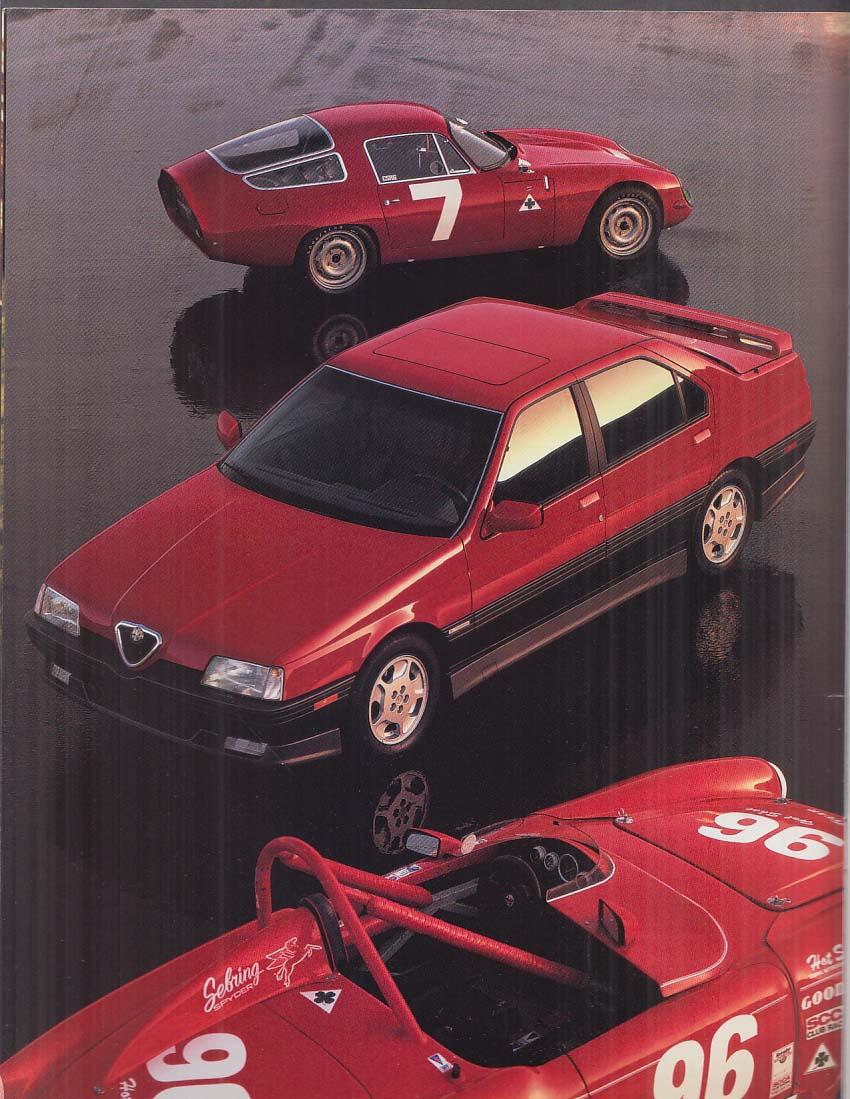 1994 Alfa-Romeo 164LS & Quadrifolgio sales brochure