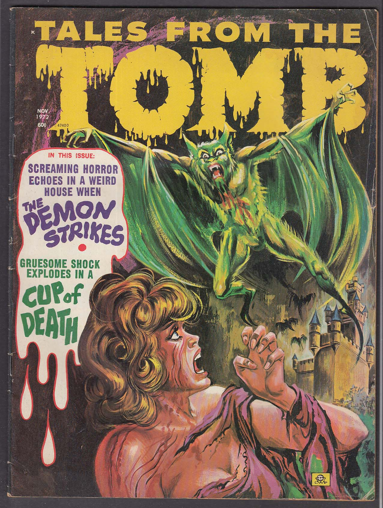 Tales From the TOMB Vol 4 #5 Eerie comic book 11 1972