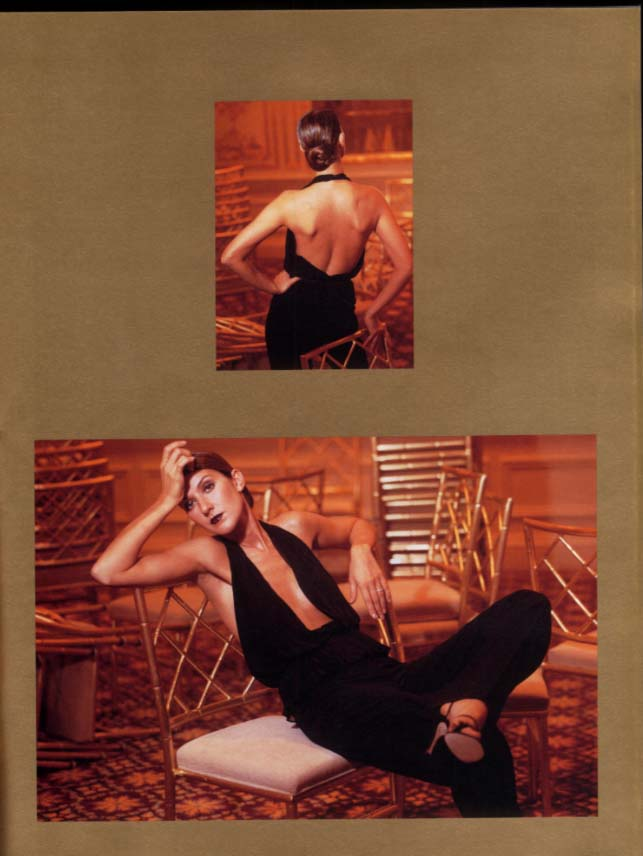 Celine Dion Let's Talk About Love World Tour souvenir program 1998
