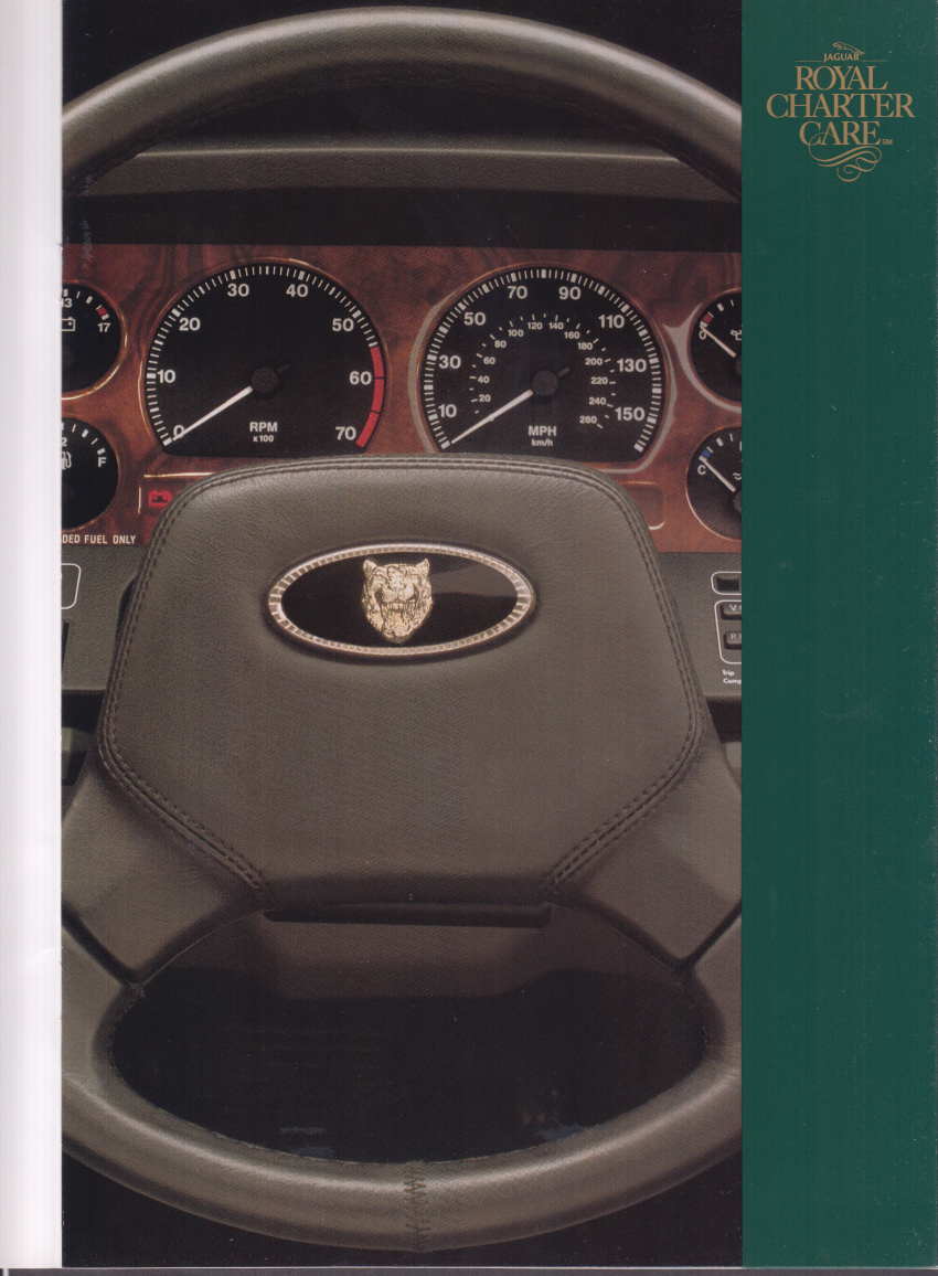 Jaguar Royal Charter Service brochure 1992