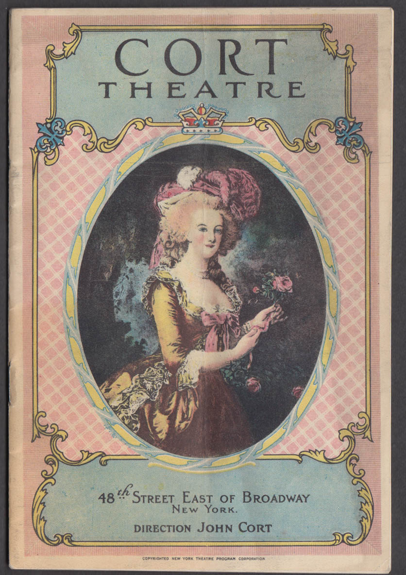 Cort Theatre NYC Playbill 1923 Kaufman & Connelly's Merton of the Movies