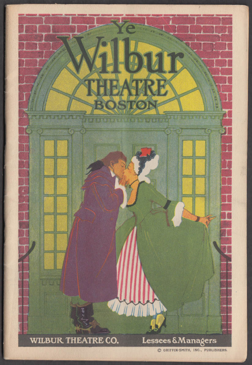 Image for Wilbur Theatre Boston Playbill 1917 Dolly Sisters in His Bridal Night