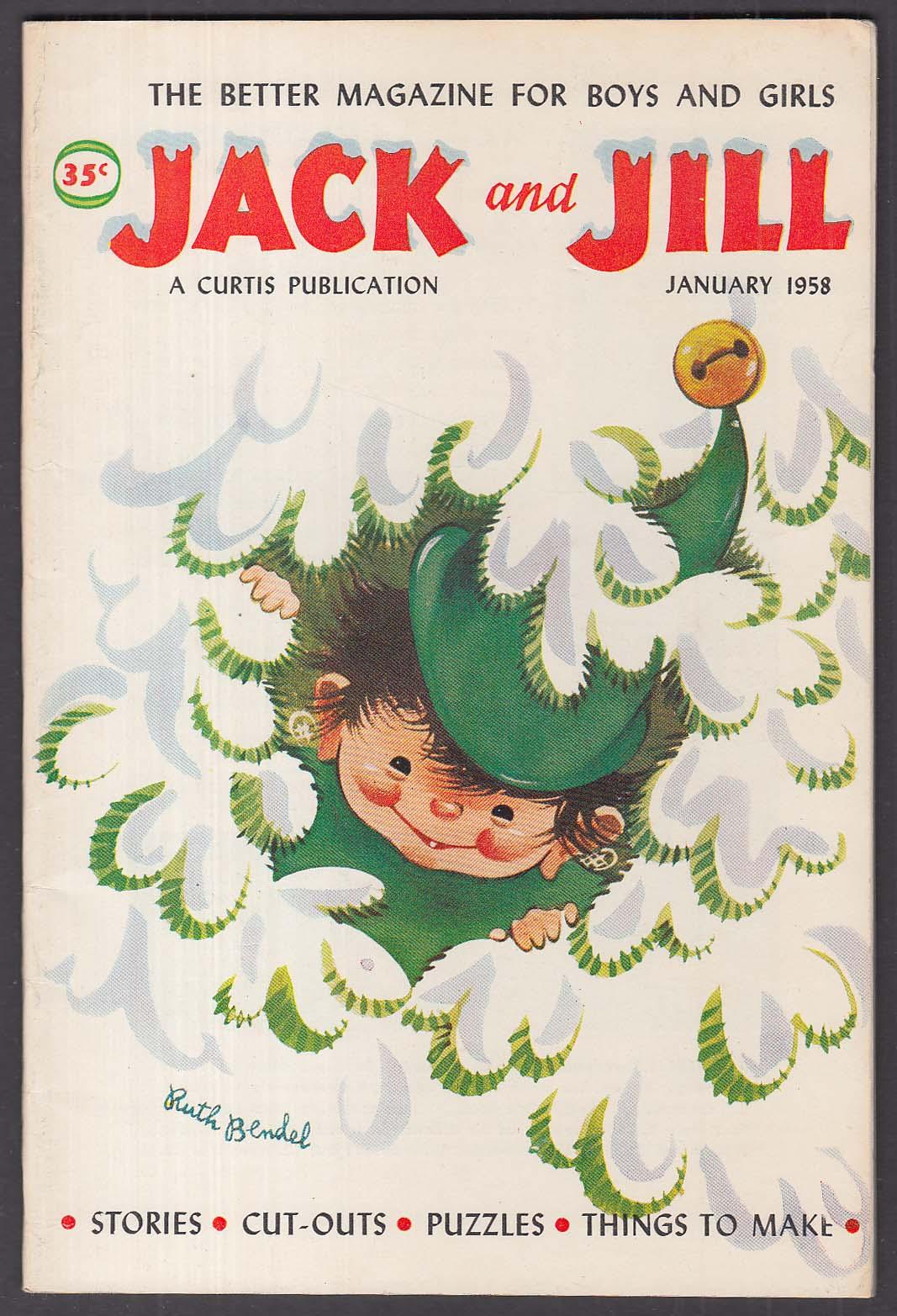 JACK & JILL Ruth Bendel Margot Austin Milt Groth + 1 1958