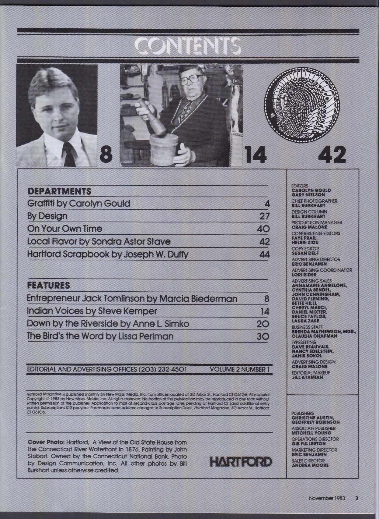 HARTFORD Computerland Entrepreneur Jack Tomlinson ++ 11 1983