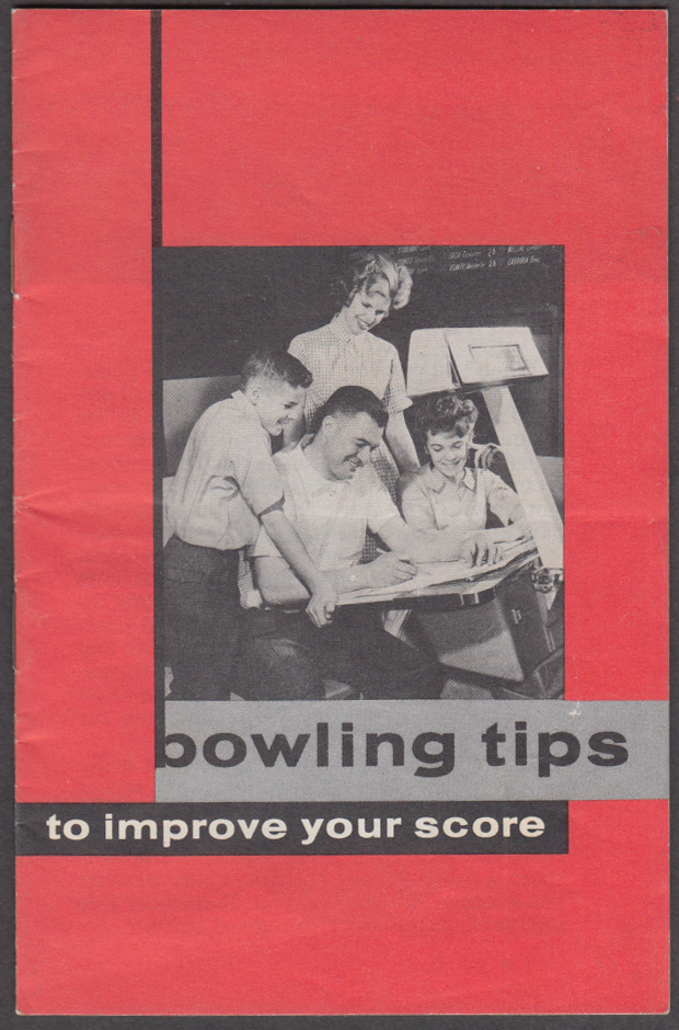AMF Bowling Tips to Improve Your Score booklet 1950s