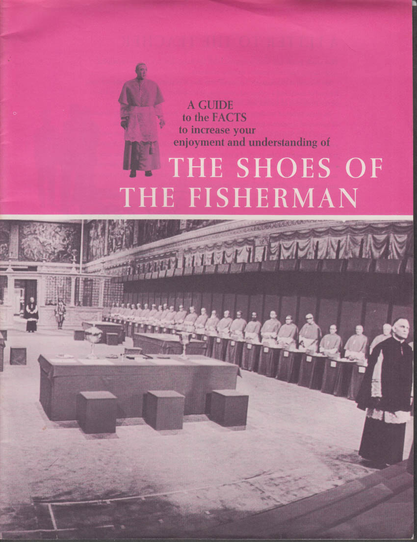 Study Guide for Teachers: The Shoes of the Fisherman movie 1968 Anthony Quinn