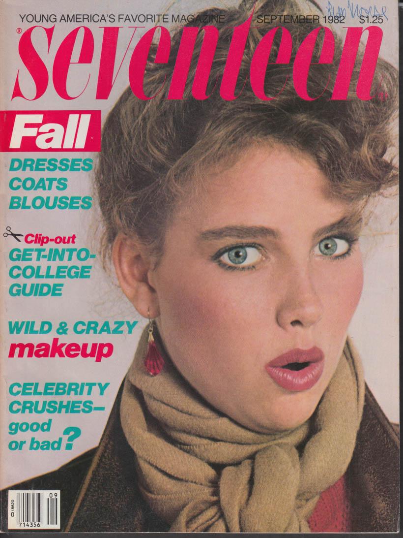 SEVENTEEN 9 1982 Comedian Geri Jewell; Robert Macnaughton